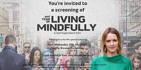 "Film screening of ""My Year of Living Mindfully"" tickets"