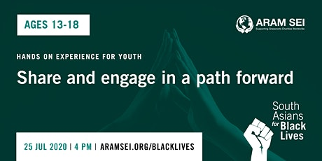 South Asians for Black Lives- Youth the future! (Ages 13 -18) tickets