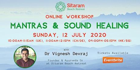 Mantras & Sound Healing tickets