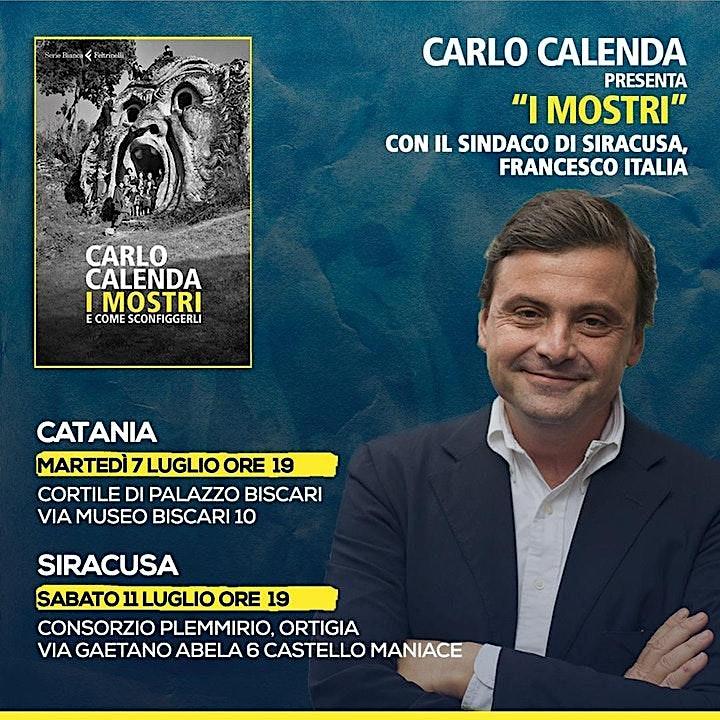 Immagine Carlo Calenda presenta il libro: I MOSTRI
