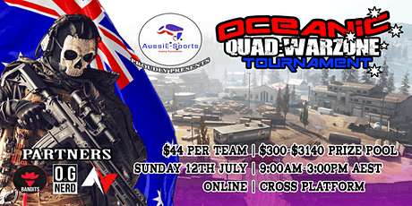 AussiE-Sports | Quad:Warzone Tournament tickets