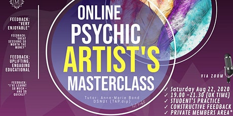 Mediumship Masterclass Psychic Art - How To Become a Psychic Artist tickets