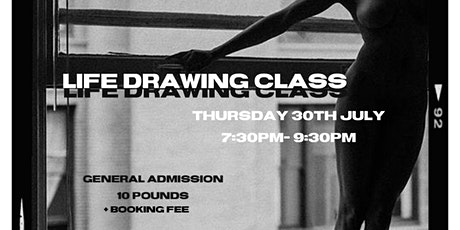 CATALINA X THRDS STUDIO LIFE DRAWING tickets
