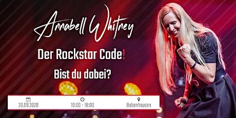 Der Rockstar Code! Tickets