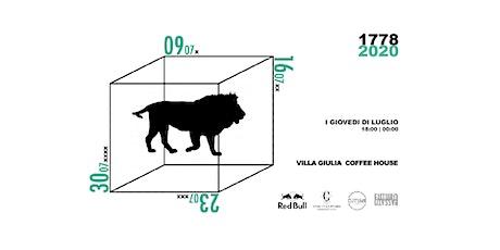 Futuro Passato | Villa Giulia Coffee House biglietti