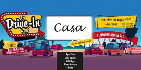 Casa Presents: The Drive-In tickets