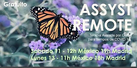 ASSYST REMOTE Primeros auxilios psicológicos avalado OMS online México Tickets