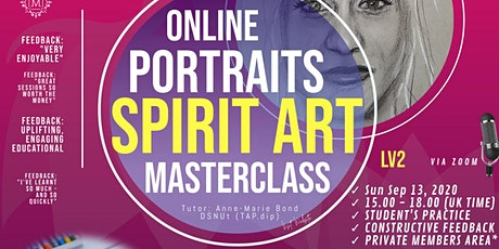 Masterclass Spirit Art - Learn to Shade Spirit Portraits (Lv2) tickets