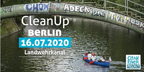 CleanUp Berlin Landwehrkanal Tickets