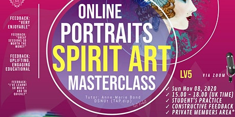 Masterclass Spirit Art - The Spirit Guide Portraits with Pastel  (Lv5) tickets