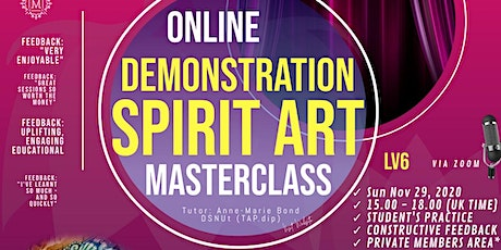 Masterclass - The Spirit Portrait Artist LIVE Demonstration  (Lv6) tickets
