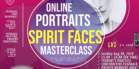 Masterclass Spirit Art - Learn to Draw Spirit Portraits (Lv1) tickets