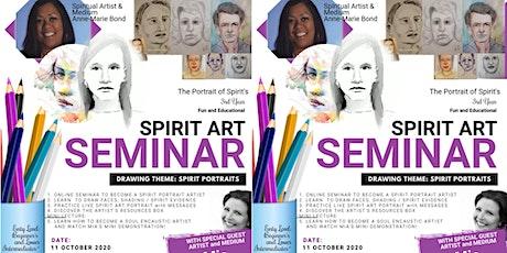 One Day Spirit Art Seminar Online - Spirit Portraits  and Encuastic Art tickets