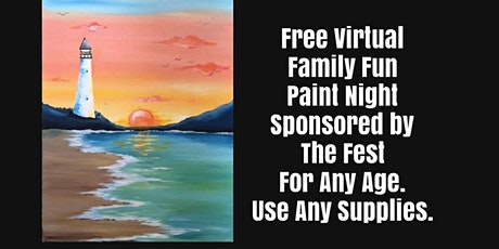 Free Family Fun Virtual Live Interactive Art Party with The Fest tickets