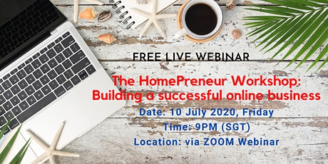 The HomePreneur Workshop:  Building a successful online business tickets