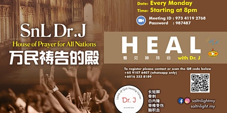 SnL Dr.J 万民祷告的殿 [House of Prayer for All Nations] tickets
