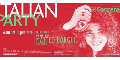 ITALIAN PARTY - DINNER & SHOW tickets