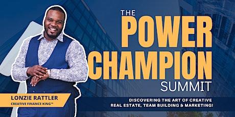 The Power Champion Summit tickets