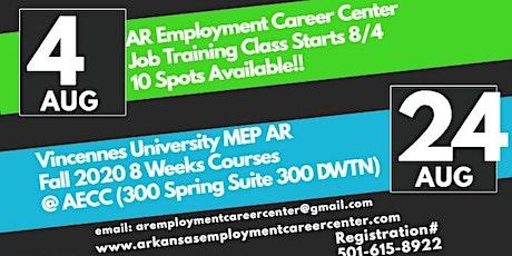 Arkansas Employment Career Center Job Training Class tickets