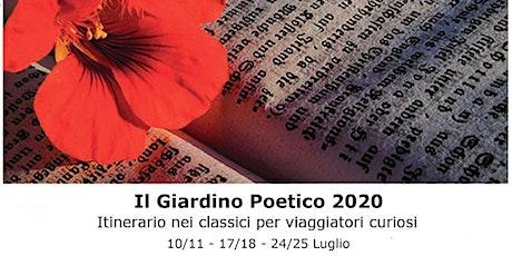 Il Giardino Poetico: Conversazione spettacolo su Cesare Pavese biglietti