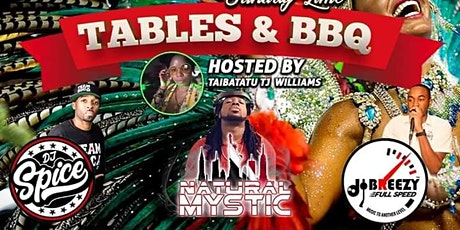 Tables and BBQ tickets
