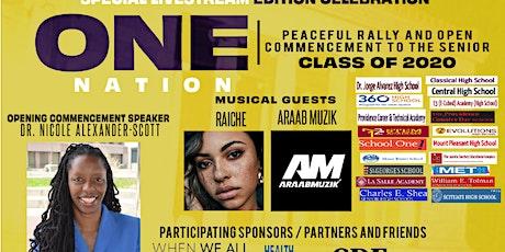 Graduate RI / One Nation Rally tickets