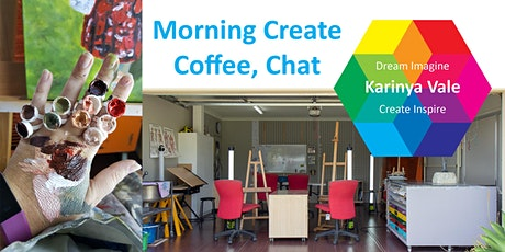 Morning Create, Coffee, Chat tickets