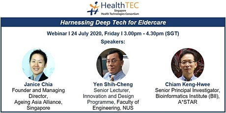 Harnessing Deep Tech for Eldercare tickets