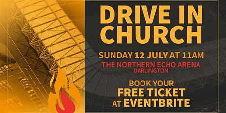 Drive in Church 12th July 2020 tickets