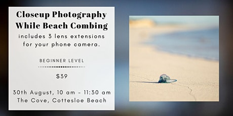 Beachcombers Macro Walk at Cottesloe tickets