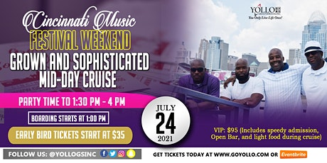"Grown and Sophisticated ""All White"" Cruise 2021 Cincinnati Music Festival tickets"