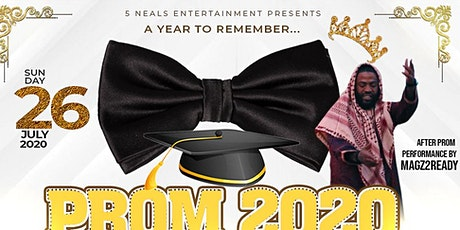 A YEAR TO REMEMBER.. PROM 2020 TAKEOVER tickets
