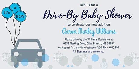 The Aaron Marley Williams Baby Shower Parade tickets