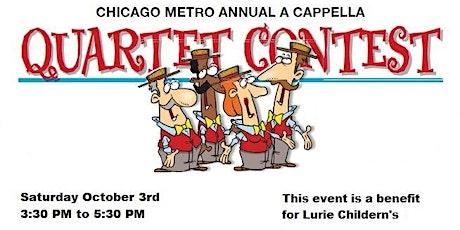 3rd Annual Chicago Metro A Cappella Quartet Contest tickets
