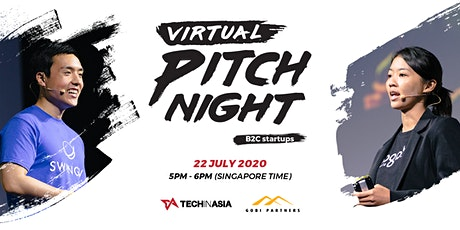 [FREE ONLINE EVENT] Tech in Asia - Virtual Pitch Night tickets