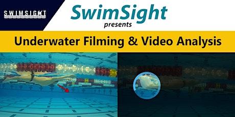 SwimSight presents Underwater Filming & Video Analysis: Dayton (Wknd 1) tickets