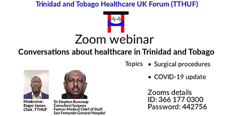 Conversations about Healthcare in T&T tickets