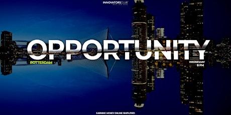 Opportunity Workshop Rotterdam tickets