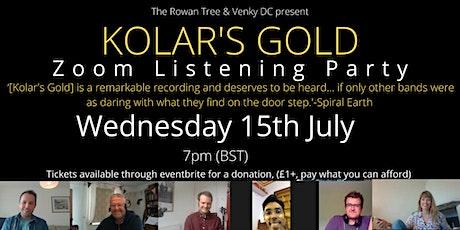 Kolar's Gold listening party with The Rowan Tree + Venky DC tickets