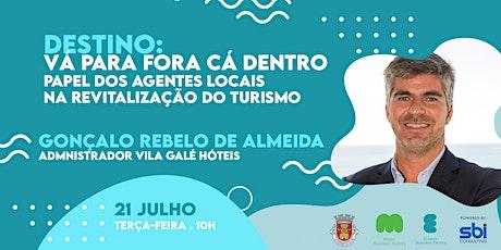 TALK TO ACTION: O papel dos agentes locais na revitalização do turismo bilhetes