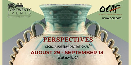19th Annual Perspectives Georgia Pottery Invitational™ tickets
