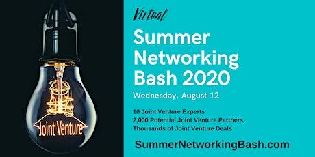 Virtual Summer Networking Bash 2020 tickets