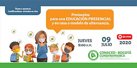 Protocolos para una educación presencial y en casa o modelo de alternancia entradas