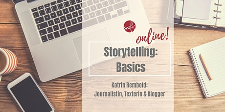 Storytelling Basics: What's your story? Tickets