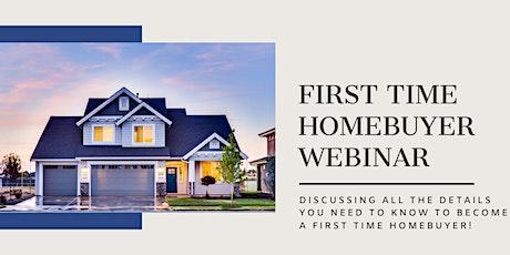 First Time Homebuyer Webinar tickets