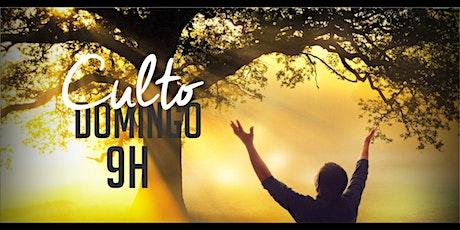 Culto Domingo (12/07) - 09:00 ingressos