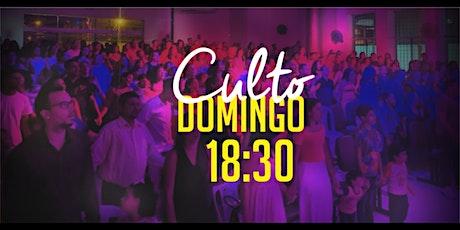 Culto Domingo (12/07) - 18:30 ingressos