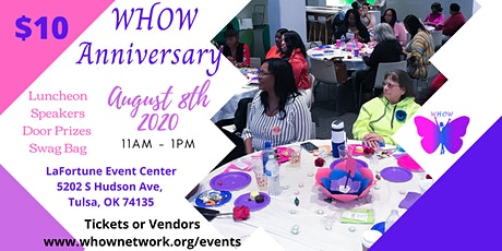 WHOW Anniversary Luncheon tickets