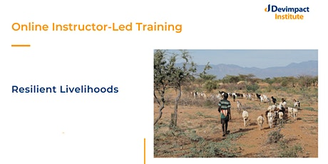 Training on Resilient Livelihoods tickets