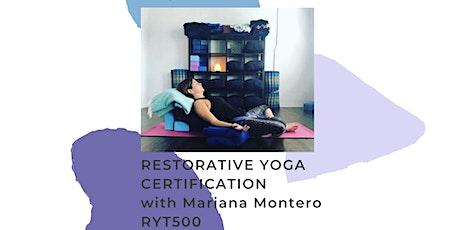 Restorative Yoga Certification tickets